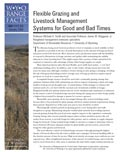 Flexible Grazing and Livestock Management Systems for Good and Bad Times cover