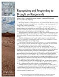 Recognizing and Responding to Drought on Rangelands cover