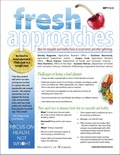 Fresh Approaches: Ideas for enjoyable and healthy foods at social events and other gatherings cover