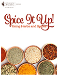 Spice It Up! Cooking with herbs and spices cover