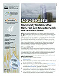 Community Collaborative Rain, Hail, and Snow Network (CoCoRaHS) cover