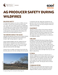 Ag Producer Safety During Wildfires cover