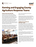 Forming and Engaging County Agriculture Response Teams cover