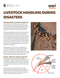 Livestock Handling During Disasters cover