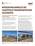 Mitigating Impacts of Livestock Transportation Accidents cover