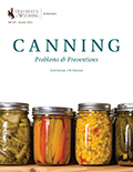 Canning Problems and Preventions cover