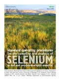 Standard Operating Procedures for Sampling and Analysis of Selenium in Soil and Overburden cover
