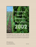Plant Pathology Research and Demonstration Progress Report -- 2002 cover