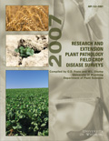 Research and Extension Plant Pathology Field Crop Disease Surveys -- 2007 cover