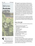 Pesticide Labeling cover