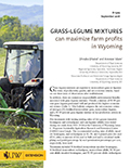 Grass-legume mixtures can maximize farm profits in Wyoming cover