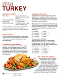 Let's Talk Turkey cover