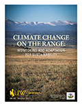 Climate Change on the Range: Monitoring and Adaptation for Sustainability cover